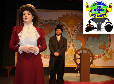 Port Gamble Theater: 'Around the World' is simple fun | Jules Verne News (english) | Scoop.it