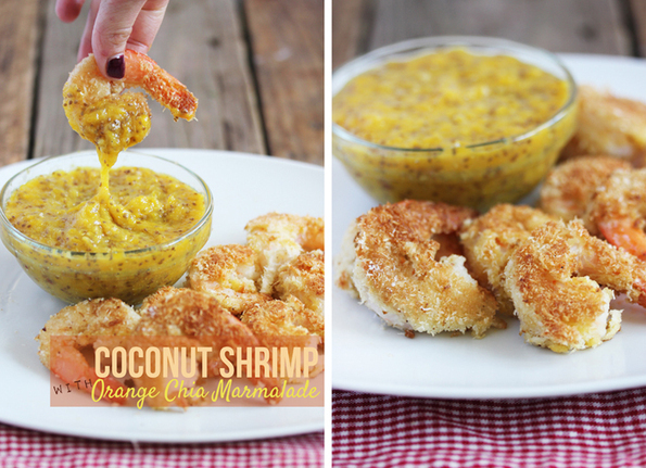 Healthy Food Friday: Coconut {Coconut Shrimp wi...