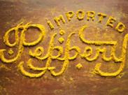 Food Typography - Danielle Evans schreibt mit Pfeffer & Co ... | Graphic Design | Scoop.it