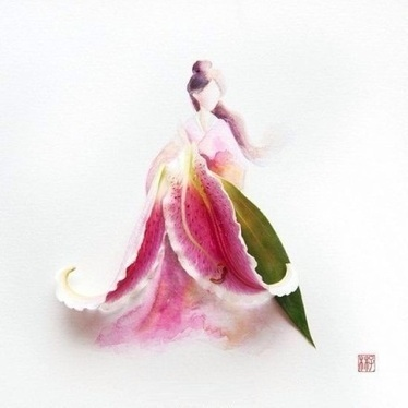 Illustrators Fall in Love with Flowers | UpDay.org | Funny&Interesting | Scoop.it