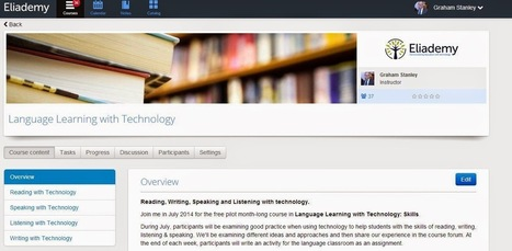 Language Learning with Technology: Skills Course (July 2014) | blog-efl | EAD | Scoop.it
