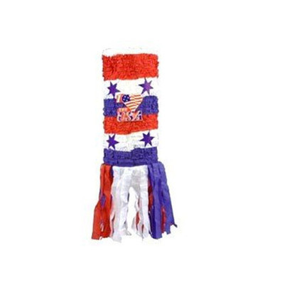 Patriotic Windsock Pinata | Pinatas | Scoop.it