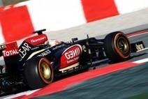F1 - Lotus pense bien gérer les pneus | Auto , mécaniques et sport automobiles | Scoop.it