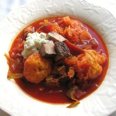 Broken Foot Calls for Eastern European Comfort Food | @FoodMeditations Time | Scoop.it