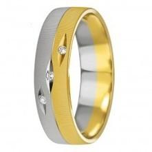 18K - WEDDING BAND - diamond fc 0,03 Ct. w/si - Wedding   Price Range: US$634.00   Wedding Band Collection Dubai   Scoop.it