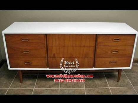 Cabinet TV Vintage | MEBEL JEPARA SHOP | Mebeljeparashop | Scoop.it