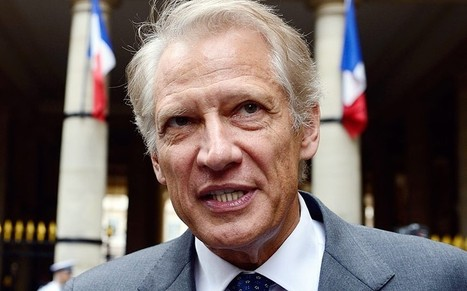 Former French Prime Minister Dominique de Villepin received €100,000 from government for a day's work - Telegraph | Ces élites qui vous veulent du bien | Scoop.it