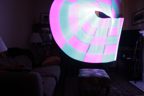 Light Painting Experiments - Pixel Stick | Raspberry Pi | Scoop.it