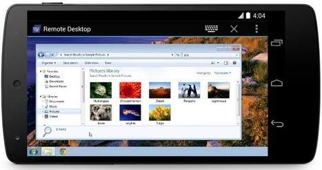 Cómo manejar tu ordenador a través de un dispositivo Android | Las TIC en el aula de ELE | Scoop.it