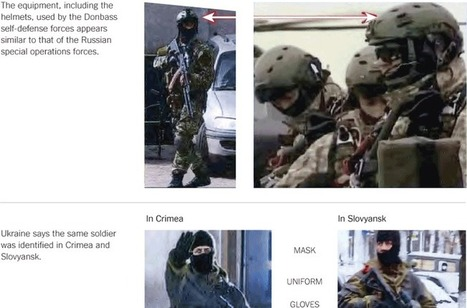 Is the Information Age burning the Spetsnaz? - Photos Link Masked Men in East Ukraine to Russia   The Intelligence War   Scoop.it
