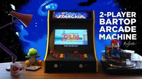 6 Raspberry Pi Arcade Projects & Step by Step Tutorials   Arduino, Netduino, Rasperry Pi!   Scoop.it