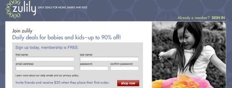 [Daily deals] Zulily, le site dédié aux enfants lève 85 millions de dollars |FrenchWeb.fr | Achat groupé | Scoop.it