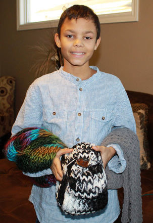 Young entrepreneur spins yarn for a good cause | Kidpreneur | Scoop.it