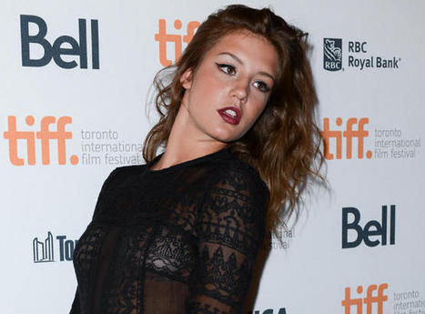 Adèle Exarchopoulos, the Newcomer Who Made History ... - Indiewire | Bikaner,rajasthan,india | Scoop.it