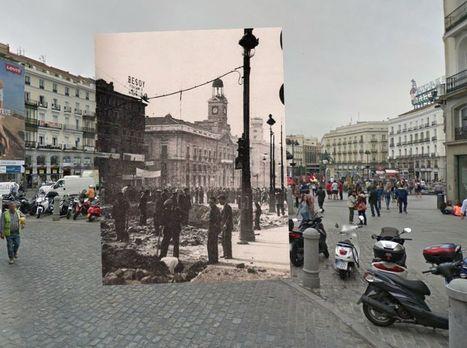 El Madrid de la Guerra Civil y el actual, unidos en Google Street (FOTOS) | Metodología y recursos | Scoop.it