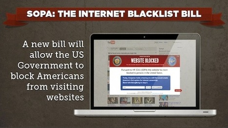 Presented Without Comment: Every Single Company Supporting SOPA, the Awful Internet Censorship Law | Technoculture | Scoop.it