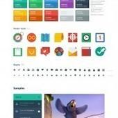 Flat UI: Diseño de interface para descargar gratis (HTML+PSD+Bootstrap) | Programacion | Scoop.it
