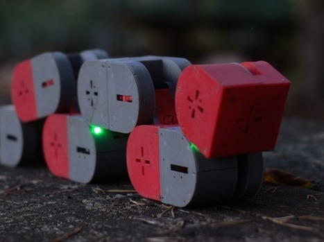 Arduino Blog – Dtto is a 3D-printed, self-configurable modular robot | Heron | Scoop.it
