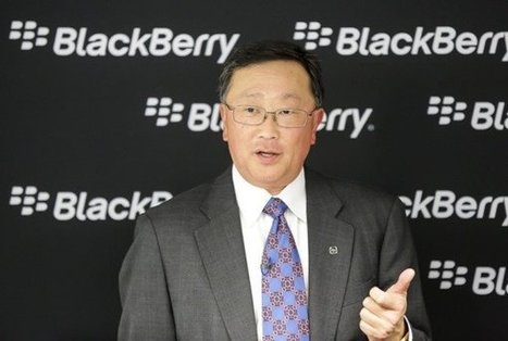 """BlackBerry's CEO Calls iPhone Users """"Wall Huggers"""" & More   Black Berry   Scoop.it"""