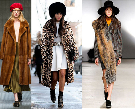 The Bear Necessities: 12 Snuggly Coats to Buy Now | Fur Fashion | Scoop.it