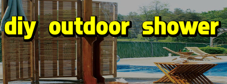 A Wonderful Feel of Relaxing In a Cool Outdoor Shower | Shower Fixture Hub | Scoop.it