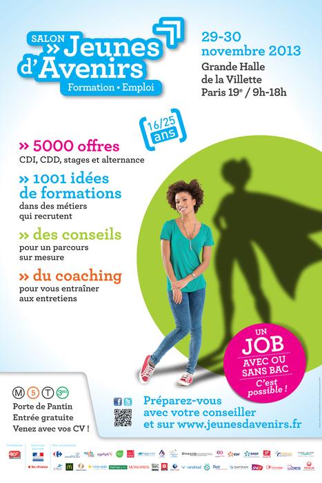 CAP ALTERNANCE PRÉSENT AU SALON JEUNES D'AVENIRS   29 et 30 NOV. 2013 – Grande Halle de la Villette – Paris 19ᵉ   Communication RH   Scoop.it