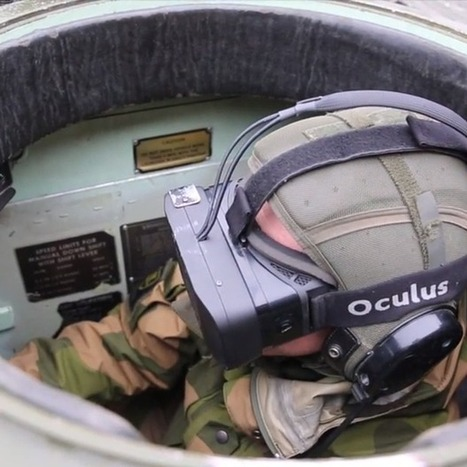 Norwegian army equips tank drivers with Oculus Rifts (Wired UK) | LearnTech | Scoop.it