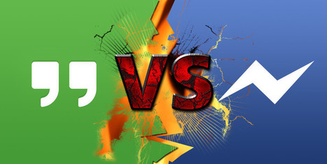 Android Messaging App Faceoff: Google Hangouts Vs. Facebook Messenger | Best Android Apps | Scoop.it