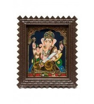 Indian Handicrafts, Paintings of Hindu Gods, Lord Balaji tanjore paintings, Lord Ganesha tanjore Paintings, Sri Krishna Incriber, from India   Indian Painting online   Scoop.it