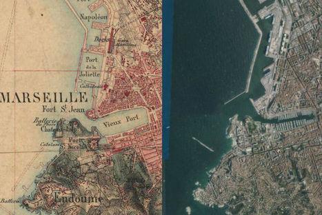 Cartes : 20 villes avant/après | HG Sempai | Scoop.it