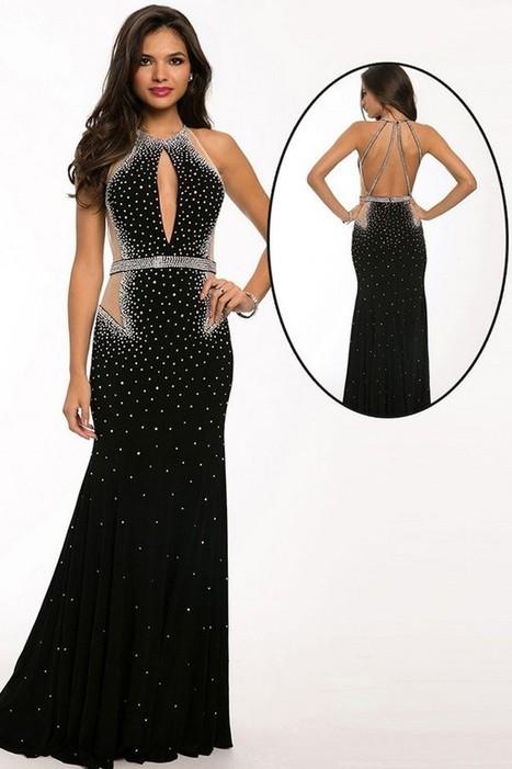 Stunning Black Sequins Black Sexy Evening Dress | Fashion Dresses | Scoop.it