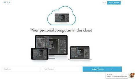 Sixa, para trabajar con un ordenador personal en la nube | Recull diari | Scoop.it