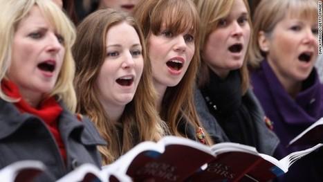 Choir singers' hearts beat as one | edutweet | Scoop.it