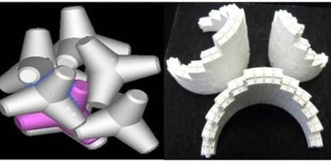 Impression 3D : vers une production massive d'os artificiel ? | 3D4Doctor | Scoop.it