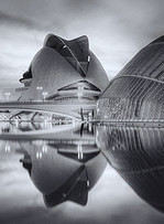 Sunset Reflections, City of Arts & Sciences, Valencia, Spain 4 Mono | Artifacts | Scoop.it