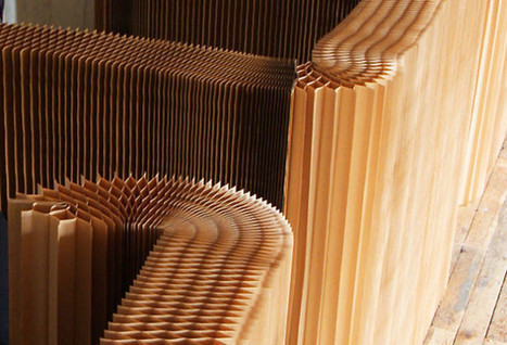 Molo design firm creates furniture from pleated paper | D_sign | Scoop.it