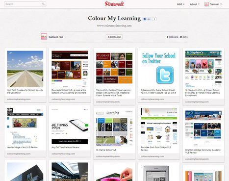 Using Pinterest for Education | Colour My Learning | Binary Magic | Scoop.it