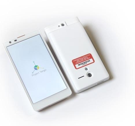 Projet Tango : 200 kits de prototypes pour les développeurs.   Google - le monde de Google   Scoop.it