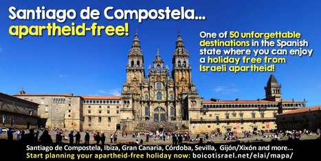 Dozens of Spanish cities declare themselves 'Free of Israeli Apartheid' | critical reasoning | Scoop.it
