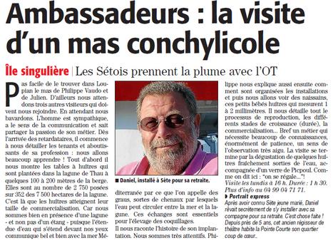 Visite du mas huîtres-bouzigues.com | Sète Tourisme : les ambassadeurs-reporters sur le terrain | Scoop.it