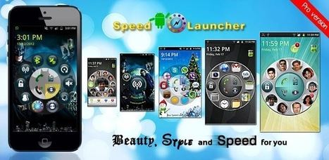 Speed Launcher Pro Special - Applications Android sur GooglePlay | Android Apps | Scoop.it