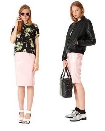 Tendance mode automne hiver 2013/2014 : La jupe en vinyle rose | comment la porter ? topshop | Mode et tendance | Scoop.it