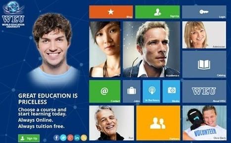 World Education University: Cursos o titulaciones gratuitas online con certificados reconocidos en el mundo | Alfabetización digital | Scoop.it