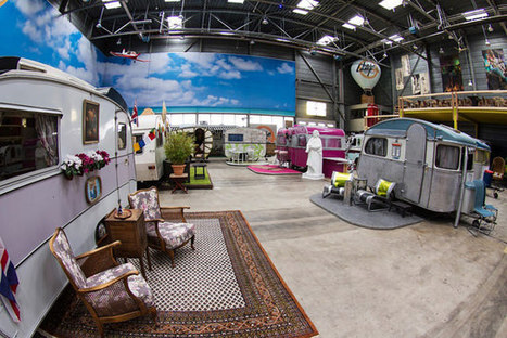 Indoor Vintage Campground Is Bonn's Newest Hostel | Inspiration & Entertainment | Scoop.it