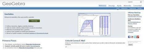 GeoGebra, para el aprendizaje de matemáticas, ya disponible en la web   Animació amb Stop Motion   Scoop.it