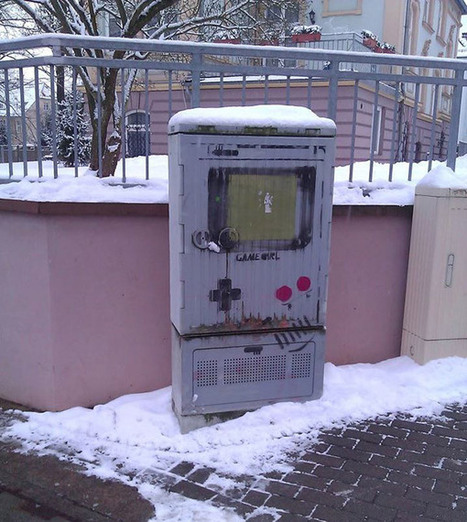 Street art Street Art Game Boy | bancoideas | Scoop.it
