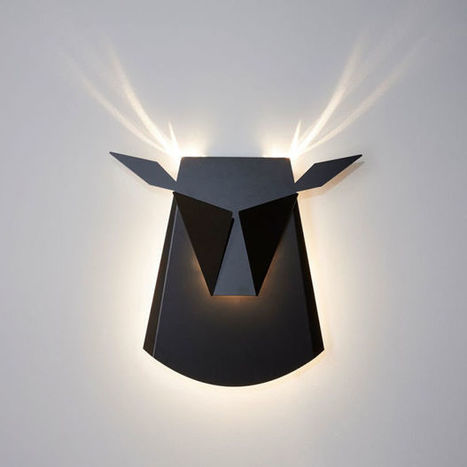 These Brilliant Wall Lamps Turn Into Animals When Switched On | SEO Smart Advisor | Scoop.it