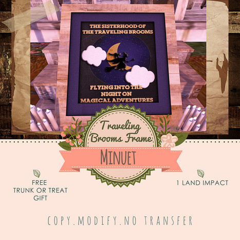Minuet - Traveling Brooms Frame @ Trunk or Treat | chouchou | Scoop.it
