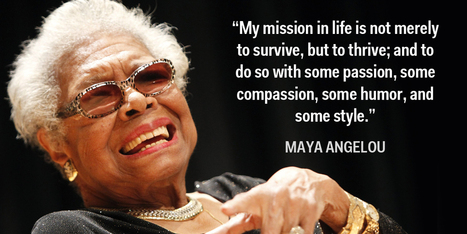 15 Pieces Of Advice From Maya Angelou | Maya Angelou | Scoop.it