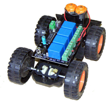 IR remote controlled robot - iKnowBot1 - part 1 iknowvations.in | iknowvations | Scoop.it